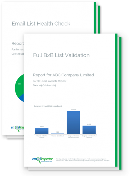 Full Email List Validation & Email List Health Check